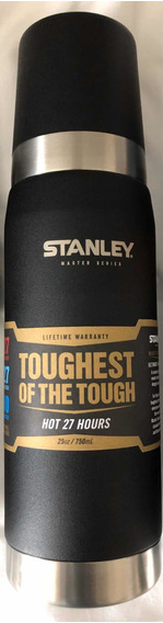 Termo Stanley Master Series 750ml Color Negro