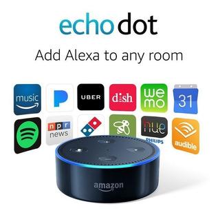 Echo Dot Amazon (segunda Generación) - Negro