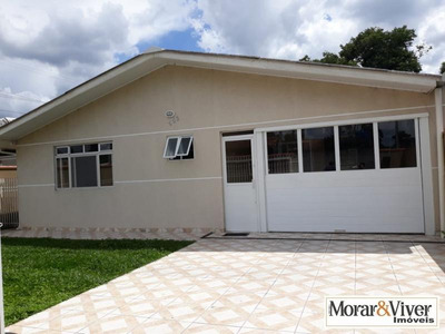 Casa Para Venda Em São José Dos Pinhais, Dom Rodrigo, 3 Dormitórios, 1 Banheiro, 2 Vagas - Sjp9009
