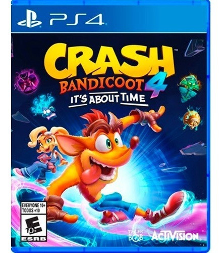 ..:: Crash Bandicoot 4 Its About Time ::.. Ps4 Playstation