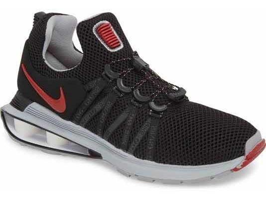 Tenis Nike Shox Gravity #8.5mx Originales Negros Nuevos