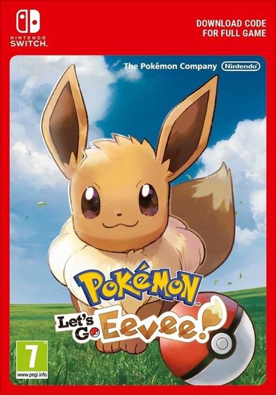 Pokémon: Lets Go, Pikachu! - Nintendo Switch Código Eshop