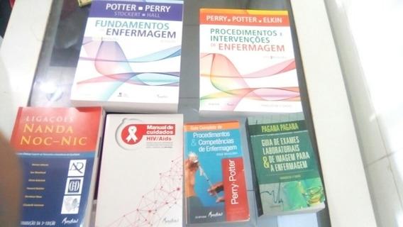 Kit Completo Livros De Enfermagem Promocao