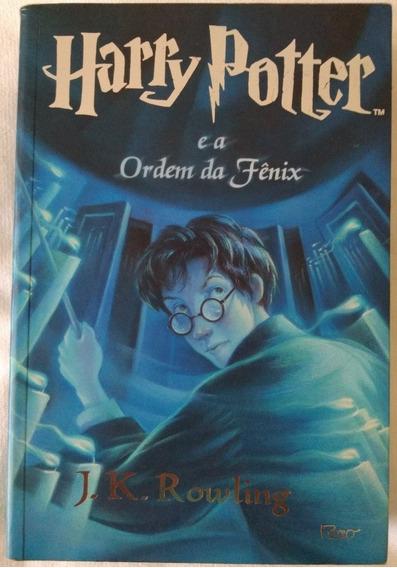 Livro Harry Potter E A Ordem Da Fenix