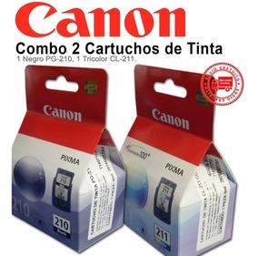 Kit Cartuchos Canon 210 E 211 Preto E Colorido - Originais