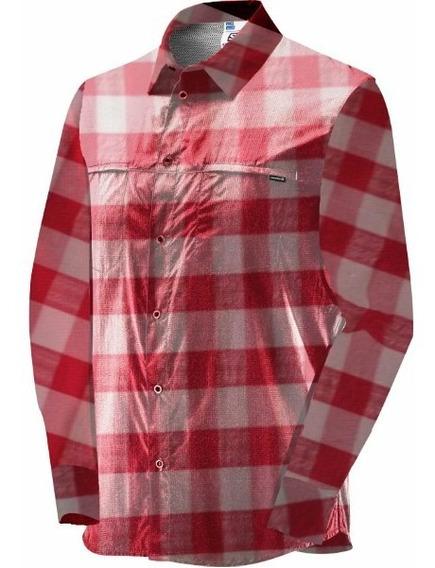 Camisas Hombre - Salomon - Chase Ls Shirt - Casual