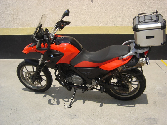 Moto Bmw Gs 650 G, 2012, Vermelha, 17.000km Originais