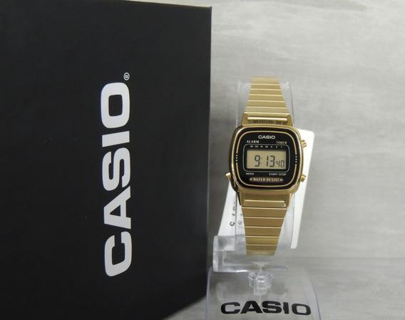 Relógio Casio Vintage Mini La670wga-1df - Nf E Garantia