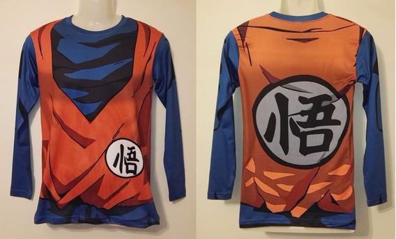 Poleras Dragon Ball Z - Goku Y + Personajes (spandex)