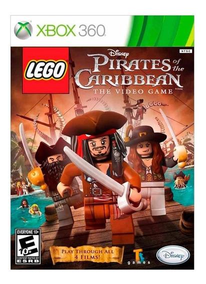 Lego Piratas Do Caribe Xbox 360 | Mídia Física Original