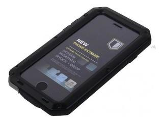 Capa De Alumínio À Prova De Choque Impermeável Para iPhone 6