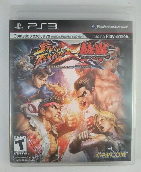 Jogo Street Fighter X Tekken Ps3 Midia Fisica