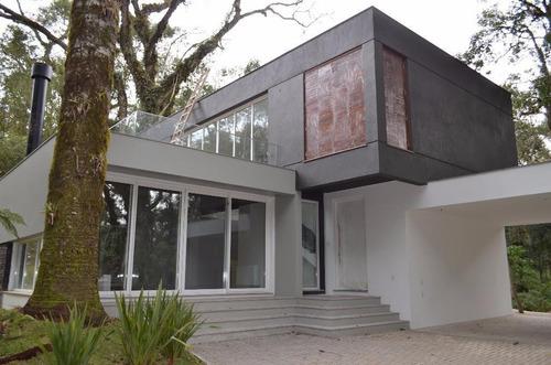 Casa Com 4 Dormitórios À Venda, 344 M² Por R$ 3.120.000,00 - O Bosque - Gramado/rs - Ca0035