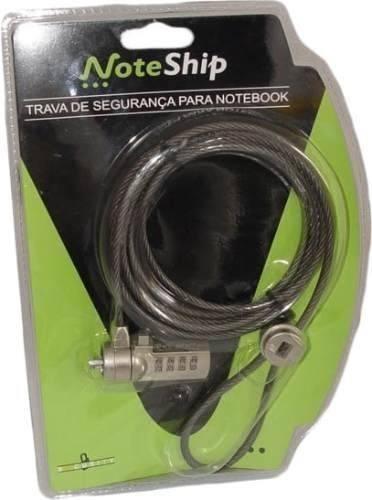 Trava Notebook Lcd Segredo 4 Dígitos Noteship 0990 Promoção