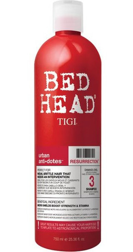 Shampoo Bed Head Resurrection 750 Ml