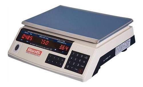 Balanza comercial digital Moretti LAP 15kg 220V blanco