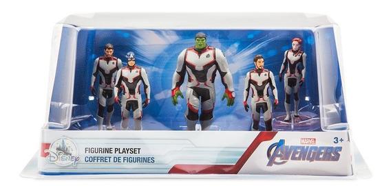 Avengers Endgame Play Set 5 Figuras Disney Store Detalle