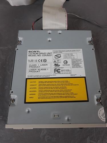 Imagem 1 de 7 de Cd Rom Drive Unit Sony Modelo Cdu5221. Usado, Testado E Func