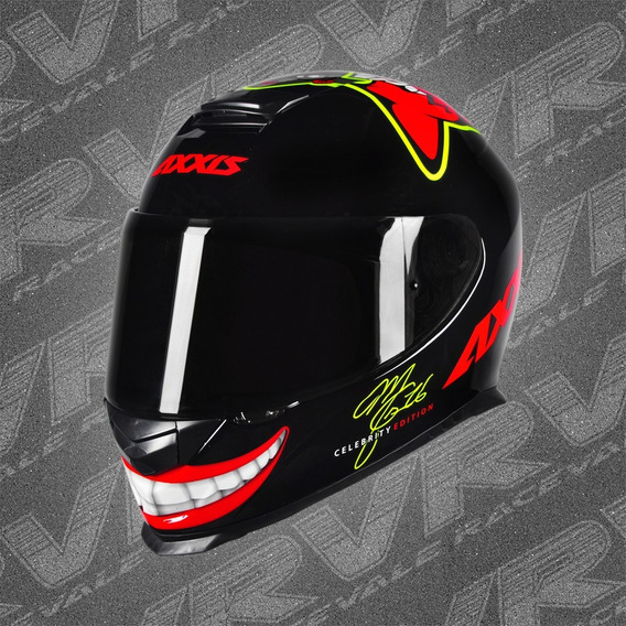 Capacete Axxis Eagle Mg16 Celebrity Ed Marianny Brilhante Mt
