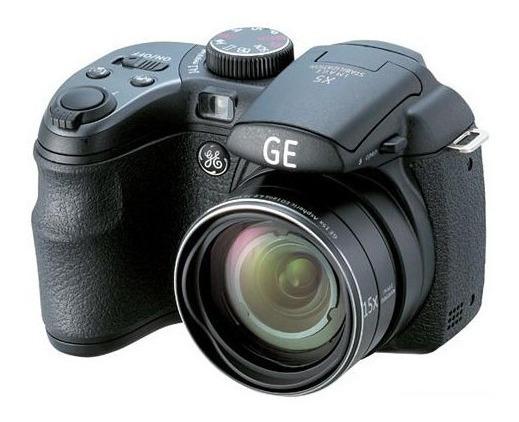 Câmera Semi-profissional Ge X500 + Bolsa Protetora