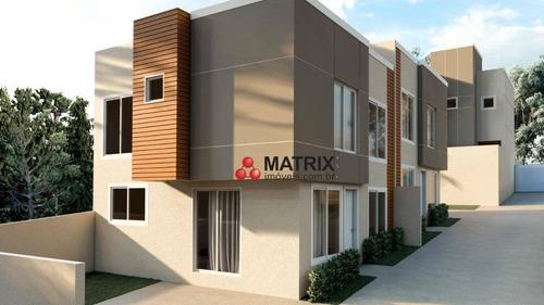 Imagem 1 de 11 de Sobrado Com 3 Dormitórios À Venda, 100 M² Por R$ 470.000,00 - Lindóia - Curitiba/pr - So2527