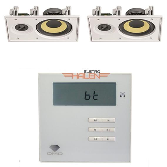 Kit Som Ambiente Dmd Dm835 + 2 Caixa Acústica Jbl Ci6r