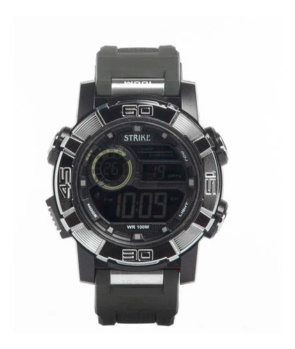 Reloj Strike Watch Resina M1202-0fac-gnbk Hombre Original