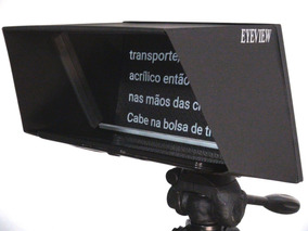 Eyeview Teleprompter Com Suporte E Controle Universal