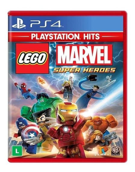 Lego Marvel Super Heroes Ps4 Mídia Física Novo Lacrado