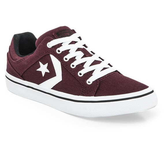 Zapatillas Converse El Distrito Ox Bordo Blanco 100%original