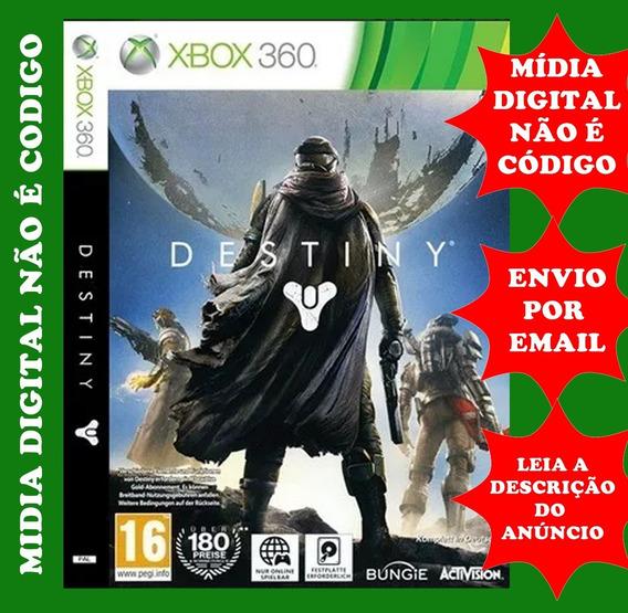 Destiny Midia Digital + Complementos Xbox 360