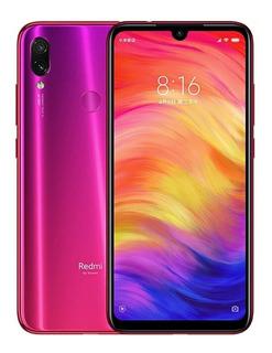 Smartphone Redmi Note 7 - 64gb +capa+pelicula+fone Envio Já