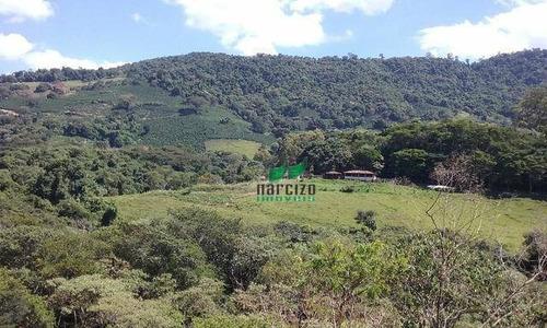 Chácara À Venda, 5255 M² Por R$ 525.500,00 - Zona Rural - Jacutinga/mg - Ch0018