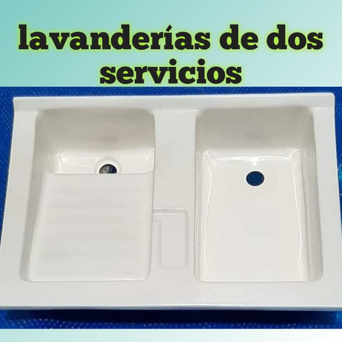 Imagen 1 de 1 de Lavanderías En Fibra De Vidrio