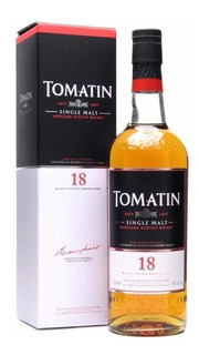 Whisky Single Malt Tomatin 18 Años 700ml. Origen Escocia.