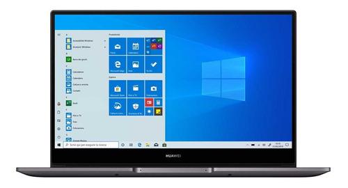 "Laptop Huawei MateBook D14 space gray 14"", AMD Ryzen 7 3700U 8GB de RAM 512GB SSD, AMD Radeon Vega 10 1920x1080px Windows 10 Home"