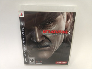 Metal Gear Solid 4 Guns Of The Patriots Ps3 Juegazo Animate