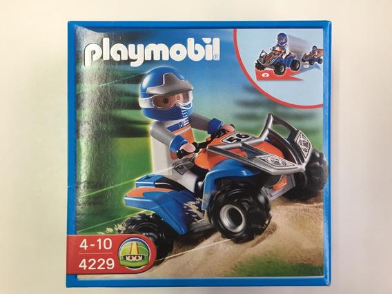 Playmobil 4229 Quadriciclo Com Fricção Geobra
