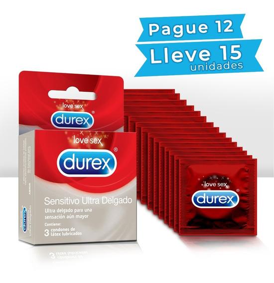 Condones Durex Delgado Gratis 3 Und