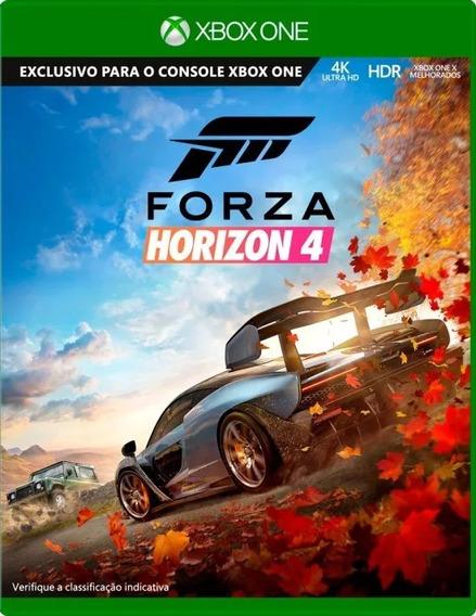 Forza Horizon 4 Xbox One Midia Fisica Lacrada Pt Br
