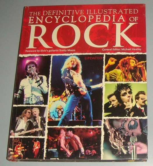 Livro The Definitive Illustrated Encyclopedia Rock (inglês)