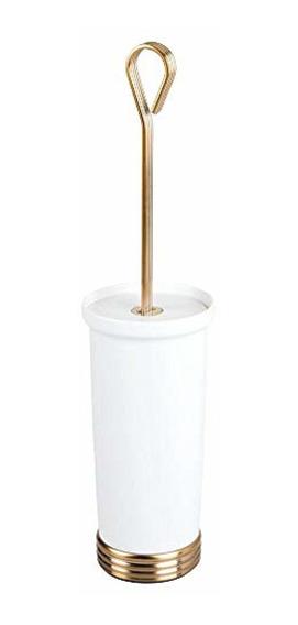 Mdesign Compact Freestanding Plastic Toilet