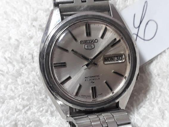 Relógio Seiko 7019 Masculino, Automático -(brc)