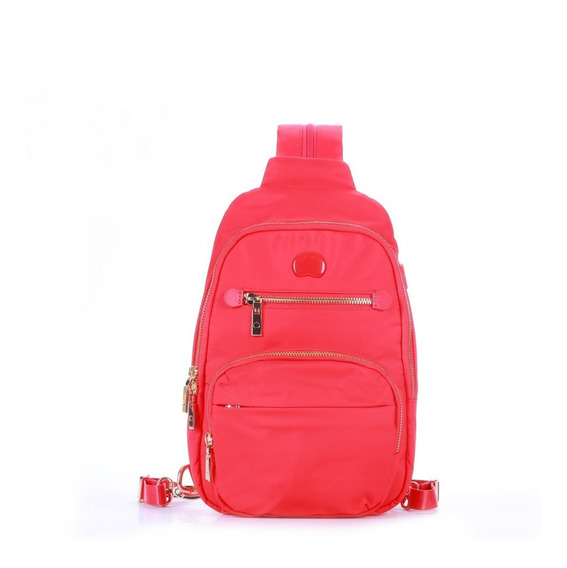 Mochila Mini Delsey Adorable (rojo)
