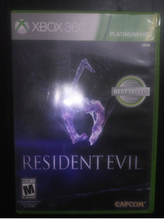Juego Físico 360 Resident Evil 6 Tienda Xbox One Almagro