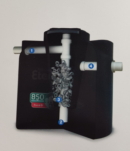 Imagen 1 de 2 de Biodigestor 850l