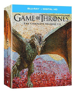Blu-ray : Game Of Thrones: Season 1 - Season 6 (gift Set,...