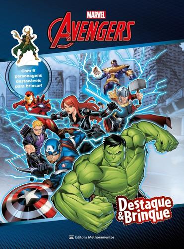 Avengers - Destaque & Brinque