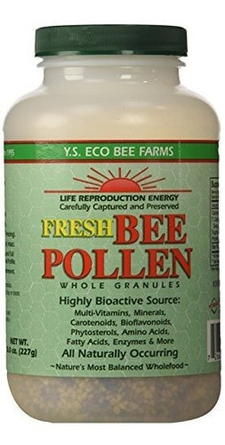Polen De Abeja O Jalea Real,y.s Bee. 8 Onzas