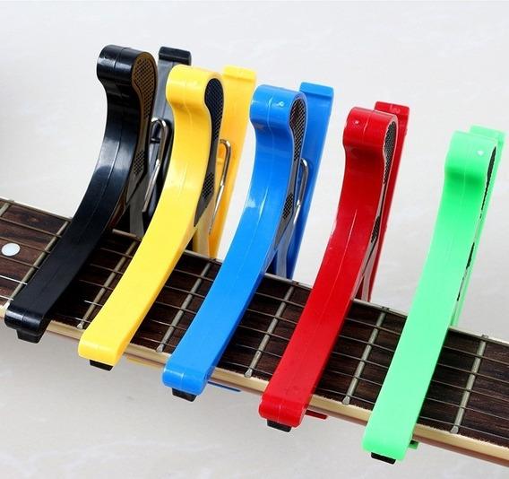 Capotraste Braçadeira Guitarra Violão Varias Cores